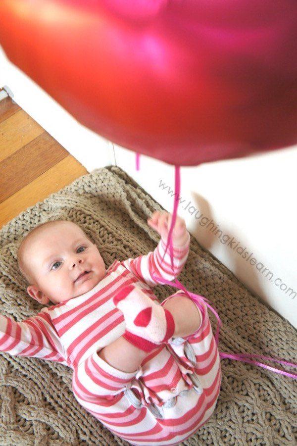 Juegos caseros para bebés de un año