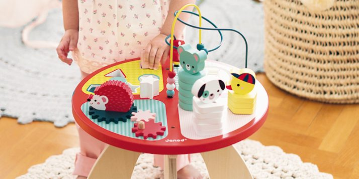 Los juguetes más adecuados para niños de entre 1 y 2 años