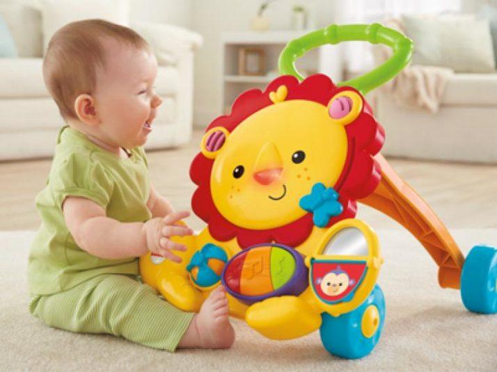 Los juguetes que ayudan a dar sus primeros pasos
