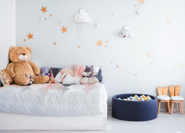 Decora una habitación infantil temática