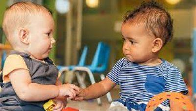 Los primeros amigos del bebé