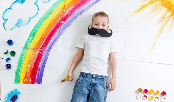 Cómo influyen los colores en los niños