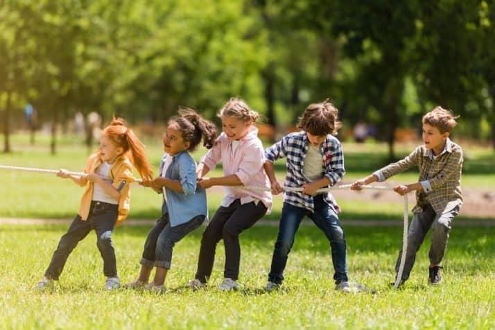Los juegos tradicionales que más les gustan a los niños