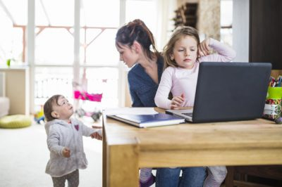 Consejos para teletrabajar con niños en casa